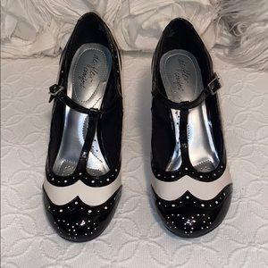 Saddle Style heels